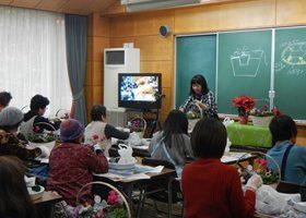 30年度寄せ植え教室の状況